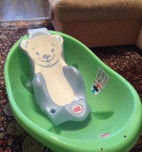 Детская ванночка + горка для купания Baby Ok