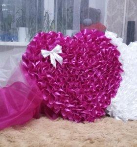 Свадебные украшения на машину в прокат