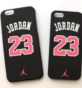 Чехол матовый jordan 23 на iPhone