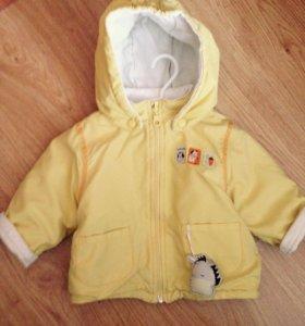 Куртка 6-9 месяцев