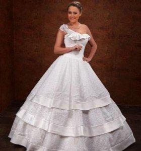 Кружевное свадебное платье бренд Valentina Lisetty