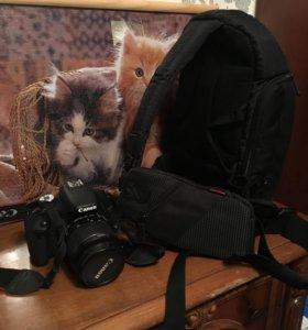 Фотоаппарат новый продам срочно!сумка подарок 🎁