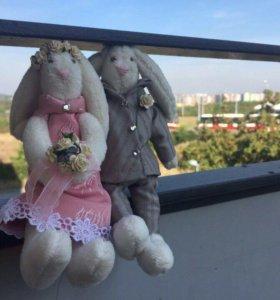 Свадебные зайчики