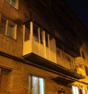 Окна, балкон