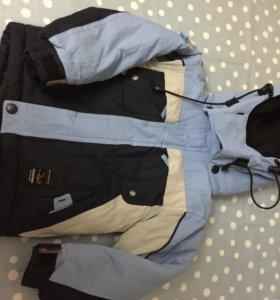 Куртка и полукомбинезон, размер 92
