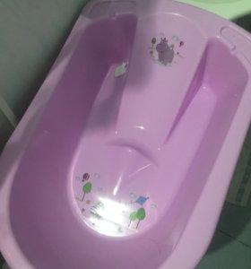 Детская ванночка-горка