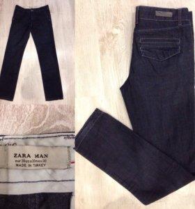 Zara джинсы и поло