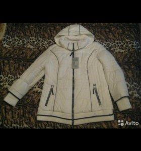 Новая куртка 54-56.