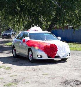Свадебный наряд на машину аренда