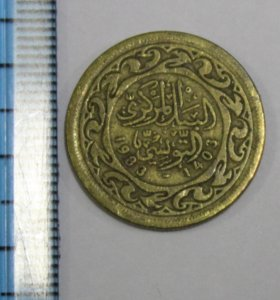 Монета Тунис
