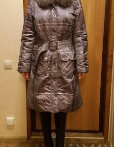Удлиненная куртка/пальто Helmidge(натуральный мех)