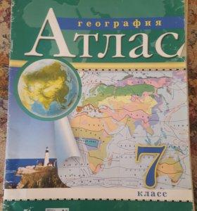Атлас 7 класс География