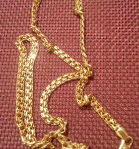 Цепь золото 585 бисмарк