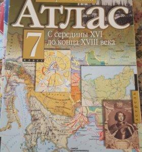 Атлас история России 7 кл