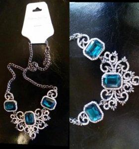 Колье с камнями (ожерелье)