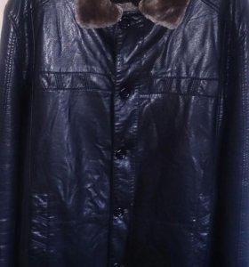 Куртка зимняя. Удлиненная. Новая.