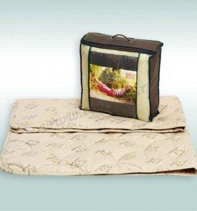 Одеяло ЭКОсоня с натуральной шерстью