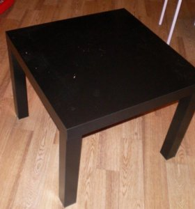 Черный столик из икеи новый в упаковке