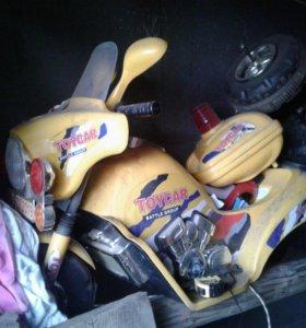 Детскии мотоцикл на запчасти
