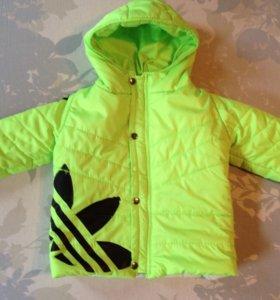 Куртка р-р 86 + подарок