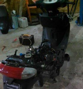 Скутер на запчасти