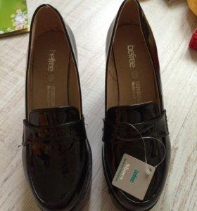 Лаковые ботинки Befree (новые) 37рр