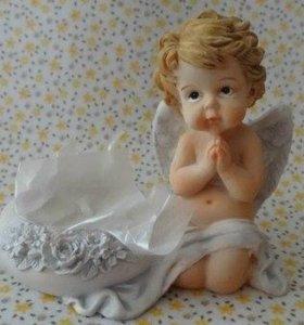 Подсвечник Ангелочек Новый,14 февраля