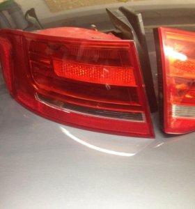 Задние фонари на Audi A4 B8