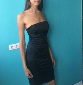 Платье бюстье вечернее коктейльное