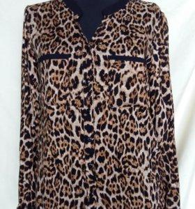 Блузка новая леопардовая!!