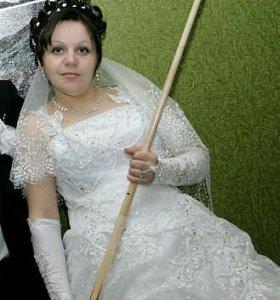 Свадебное платье 1- раз одета