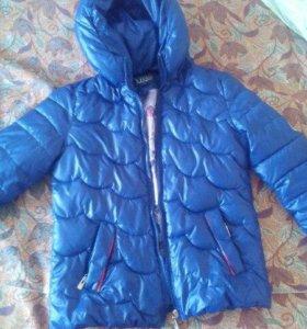 Куртка осень тёплая зима