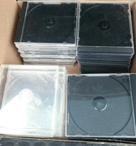 Пластиковые коробки (боксы)  для DVD,CD дисков