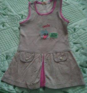 Сарафан-платье для девочки
