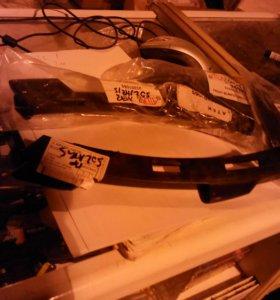 Кронштейн переднего бампера соларис