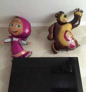 Маша и медведь шары
