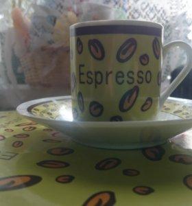 Кофейный фарфоровый набор