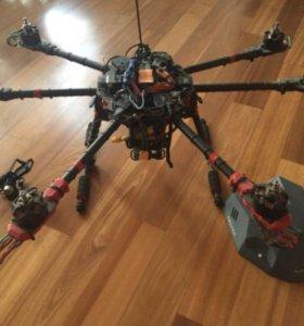 Квадрокоптер для аэросъемки и хобби полетов