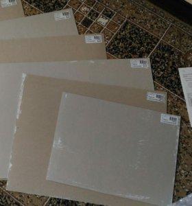 Грунтованный картон для акриловой и масляной краск