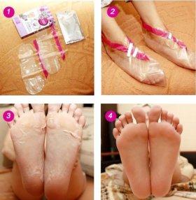 Педикюрные носочки (2 пары)