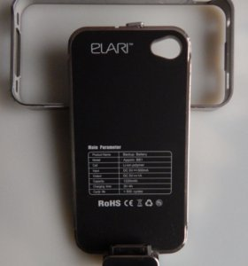Внешний аккумулятор чехол для Айфона