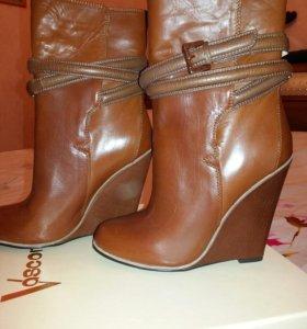 Новые ботинки 35 р-р
