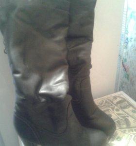 Сапоги зимние, туфли.