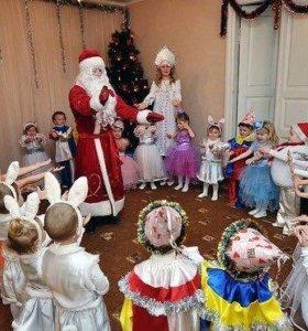 Зимний бал с Дедом Морозом и  Снегурочкой