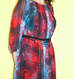 Шифоновое новое платье