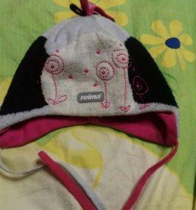 Шапка Reima на 2-3 годика