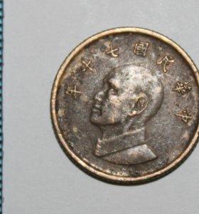 Монета Тайвани