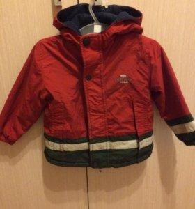 Куртка осенняя на мальчика 1,5-2 года