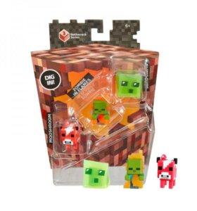 Набор Minecraft из 3х фигурок (Оригинал)