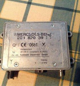 Блок управления телефоном Mercedes